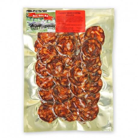 Chorizo Ibérico de Bellota cortado a máquina (200g)